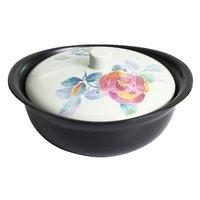 Hana Kotoba Mino Ware Heat-Resistant Pot