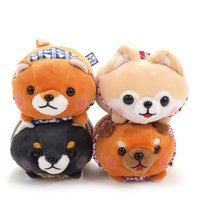 Tsumeru! Mochikko Mameshiba San Kyodai Standard Dog Plush Collection