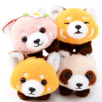 Lesser Panda-chan Yochi-yochi Red Panda Plush Collection (Ball Chain)