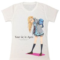 Your Lie in April Kaori Miyazono Sublimation Juniors' T-Shirt