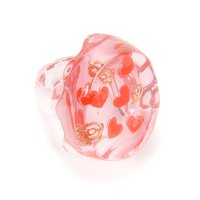 Q-pot. Love Heart Jelly Ring