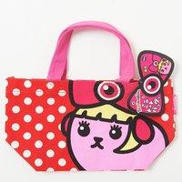Mameshi-Pamyu-Pamyu Polka Dot Mini Tote Bag