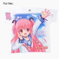 Angel Beats! 1st Beat Full-Color T-Shirt - Yui Ver.