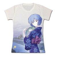 Evangelion Kimono Rei Ayanami Sublimation Juniors' T- Shirt