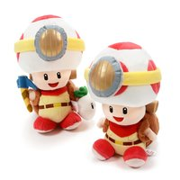 Captain Toad: Treasure Tracker Toad Plush