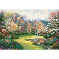 Happiness Flower Garden Jigsaw Puzzle
