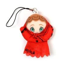 Rebuild of Evangelion Asuka Mini Strap Puppet