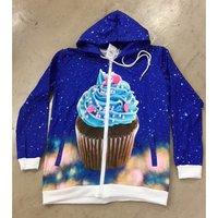 ACDC RAG Cupcake Zip Hoodie