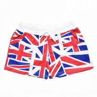 ACDC RAG Union Jack Shorts