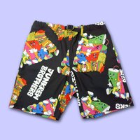 NEUZZZ JUNKREW BROS. All-Over Print Shorts