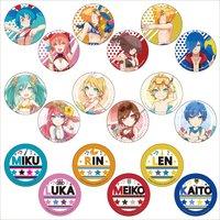 Hatsune Miku Summer Festival Trading Badges: Beach Festival Ver.