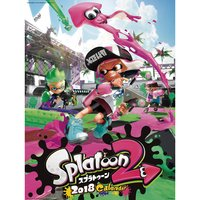 Splatoon 2 2018 Calendar