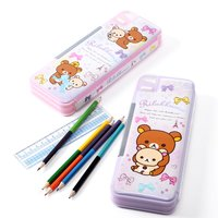 Rilakkuma Go Go School Pen Cases