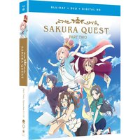 Sakura Quest Part 2 Blu-ray/DVD Combo Pack