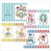 Hatsune Miku Summer Festival A4 Clear File Set: Beach Festival SD Ver.
