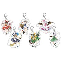 Touhou Project Big Keychain Charm Collection
