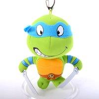 """Teenage Mutant Ninja Turtles 5.5 Leonardo Keychain Plush"""""""