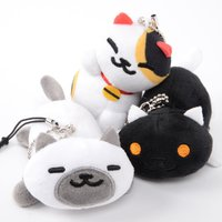 Neko Atsume Phone Cleaner Plush Mascots Ver. 2