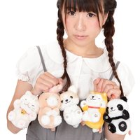 Dokodemo Nekkorogari Tai Animal Plush Collection (Ball Chain)