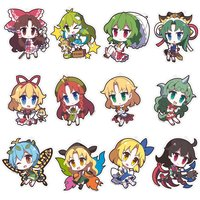Touhou Project Yurutto Touhou Acrylic Keychain Charm Collection