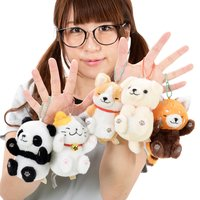 Itsudatte Nekkorogari Tai Animal Plush Collection (Ball Chain)