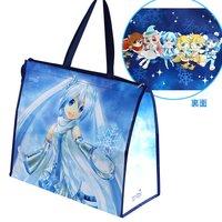 Snow Miku Zippered Port Bag