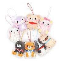 Puchimaru SP All-Stars Plush Collection (Mini Strap)