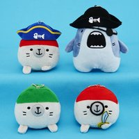 Same-Z Ball Chain Pirate Plush Collection