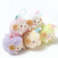 Dreamy Wooly Elephant Plush Collection (Mini Strap)