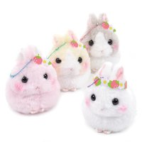 Usa Dama-chan Strawberry Party Rabbit Plush Collection (Ball Chain)