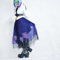 ACDC RAG Lace Layered Long Skirt