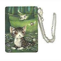 Wachifield Dayan the Cat Mori no Sasaki Art Pass Case