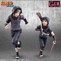 G.E.M. Series Naruto Shippuden Itachi Uchiha & Sasuke Uchiha Set