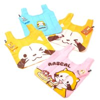 Rascal the Raccoon Colorful Shopping Bags