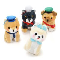 Mameshiba San Kyodai ~Oshigoto Gokko~ Dog Plush Collection (Ball Chain)