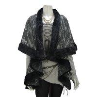 Rozen Kavalier Faux Fur Mantle