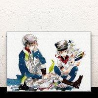 A Naval Officer's Journal Acrylic Art Board