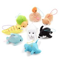Cheerful Aquarium Plush Collection (Mini Strap)