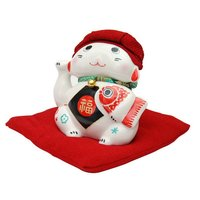 Ebisu Beckoning Cat Small Coin Bank (Good Fortune)