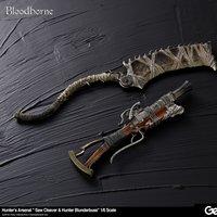 Bloodborne Hunter's Arsenal Saw Cleaver & Hunter Blunderbuss 1/6 Scale Weapon Set