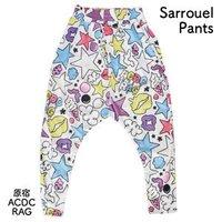 ACDC RAG Colorful Star Sarouel Pants