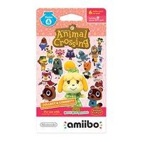 Animal Crossing amiibo Cards Series 4 (6-Pack)