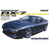 Aoshima 1/24 #71: Savanna RX-7 '89 LH Drive