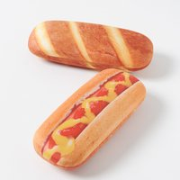 Bread-Shaped Eyeglass Cases