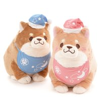 Chuken Mochi Shiba Fluffy Bedtime Plush Collection (Big)