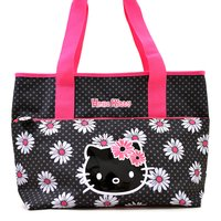 Hello Kitty Daisy Shoulder Tote Bag