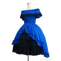 Atelier Pierrot Off-Shoulder Shirred Dress