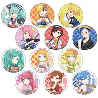 Hatsune Miku Summer Festival Trading Badge Collection