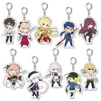 Pikuriru! Fate/Grand Order Trading Acrylic Keychain Charms Vol. 2 Box Set