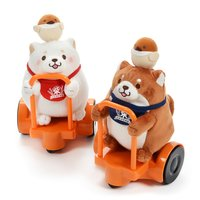 Chuken Mochi Shiba Swift Scooter Plush Collection